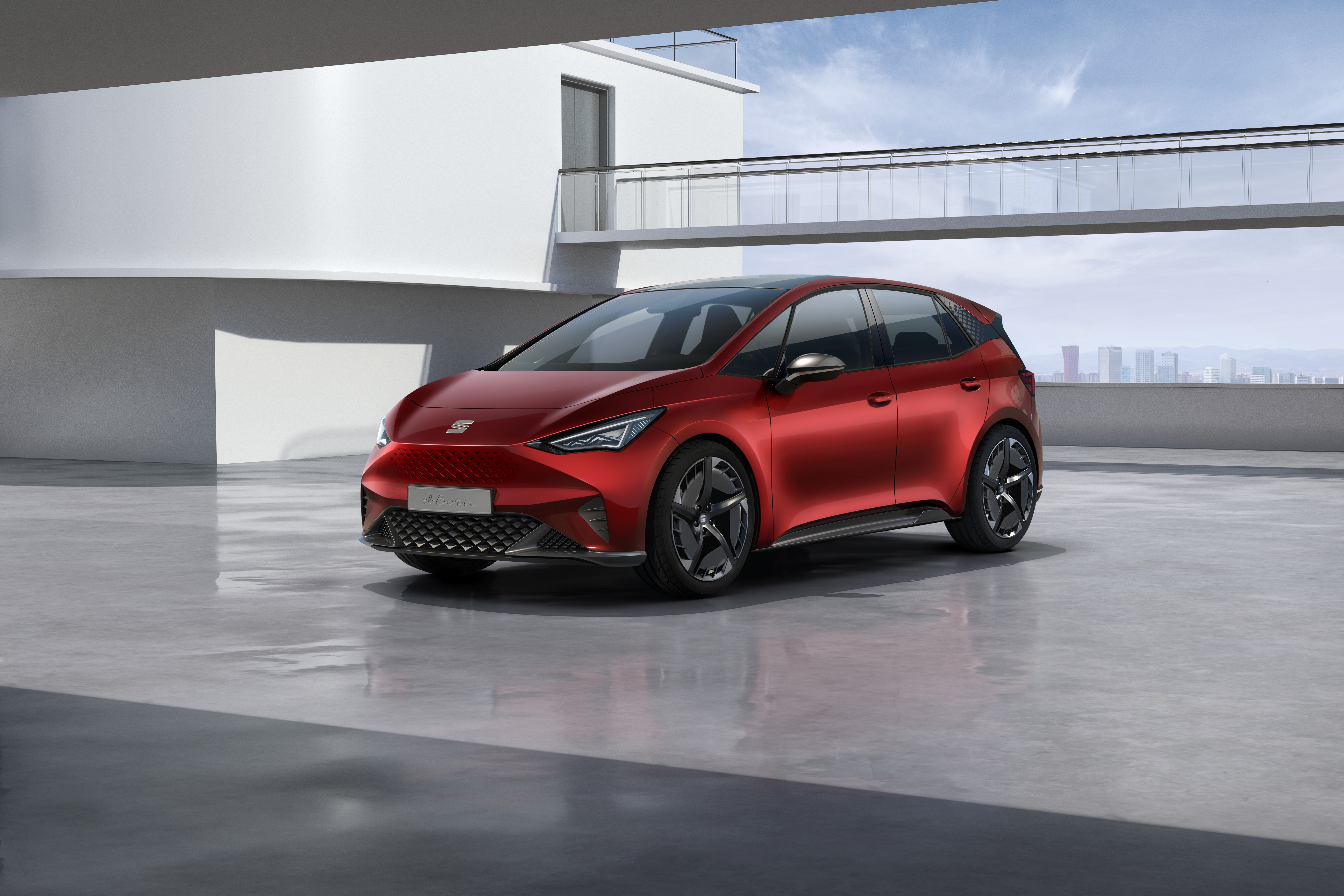 Seat El Born Plugged Into Electric Mobility