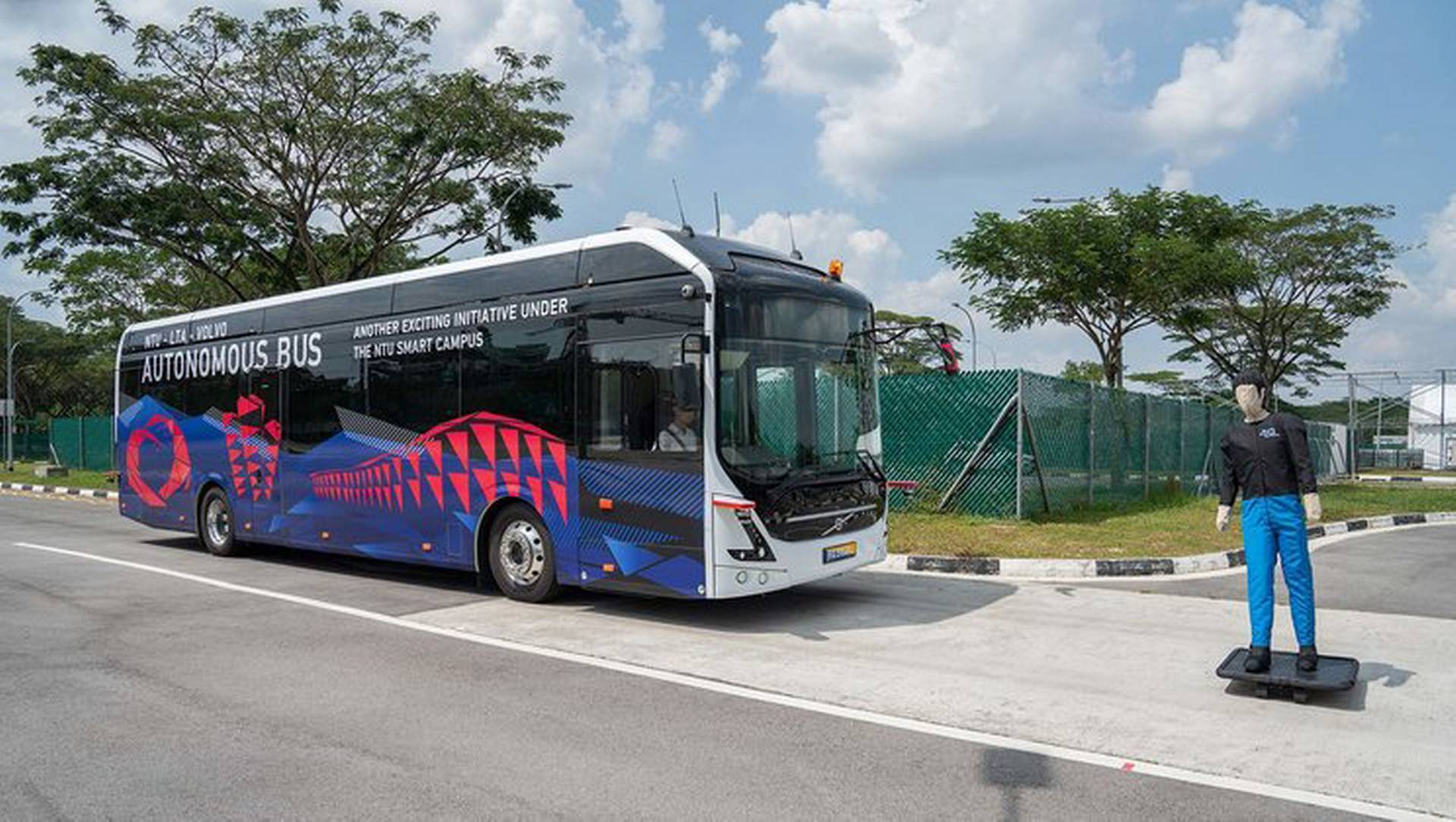 NTU Singapore and Volvo unveil world's first full size
