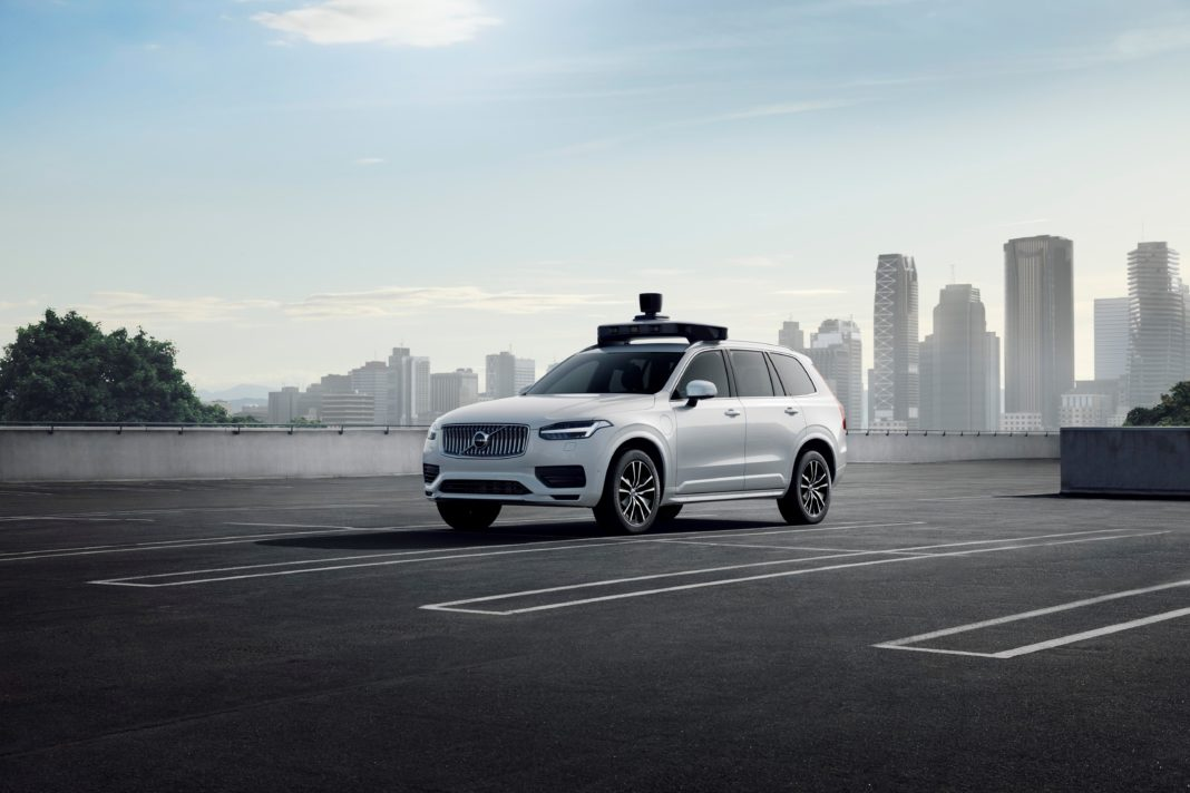 Volvo Cars And Uber Present Production Vehicle Ready For Self Driving