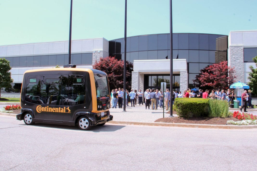 Continental Pilots Radar System in Driverless Shuttles in