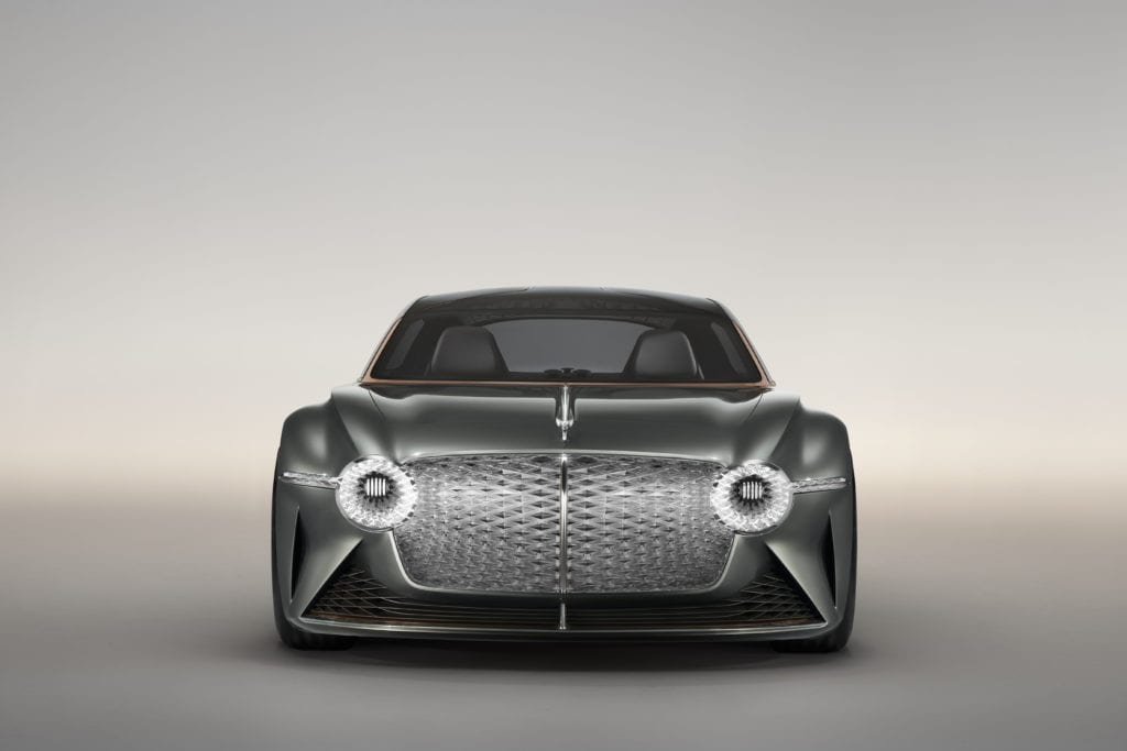 Bentley Reveals Zero-Emissions Concept Car