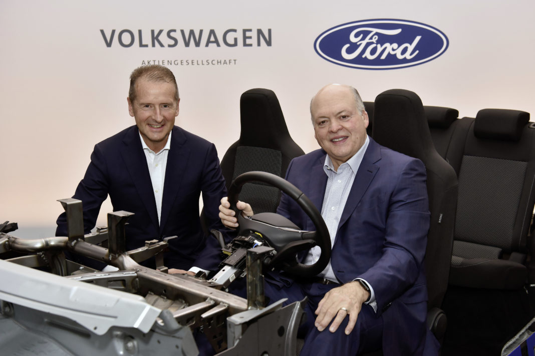 Ford and Volkswagen Expand Global Alliance Into Autonomous Technology