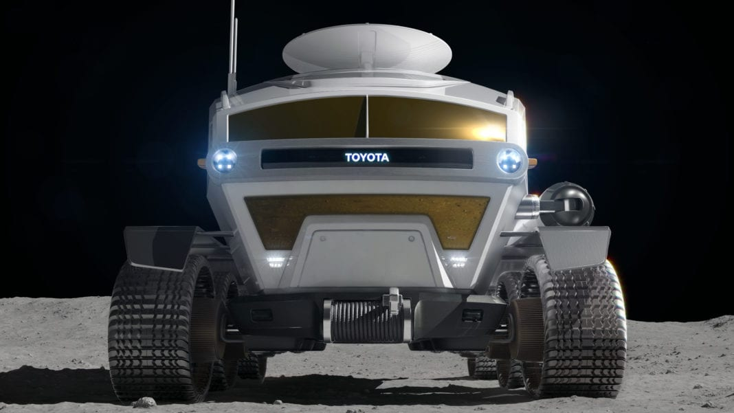Toyota's Giant Step to Test Electric Vehicle Technology on the Moon