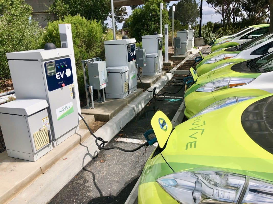 V2g Fleet Charging At Ucsd California