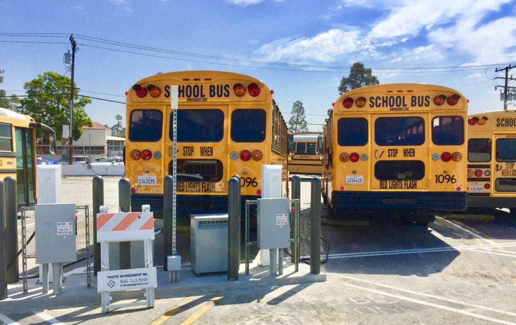 V2g School Bus Torrance California