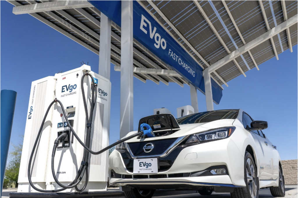 Evgo Nissan Fast Charging Stations