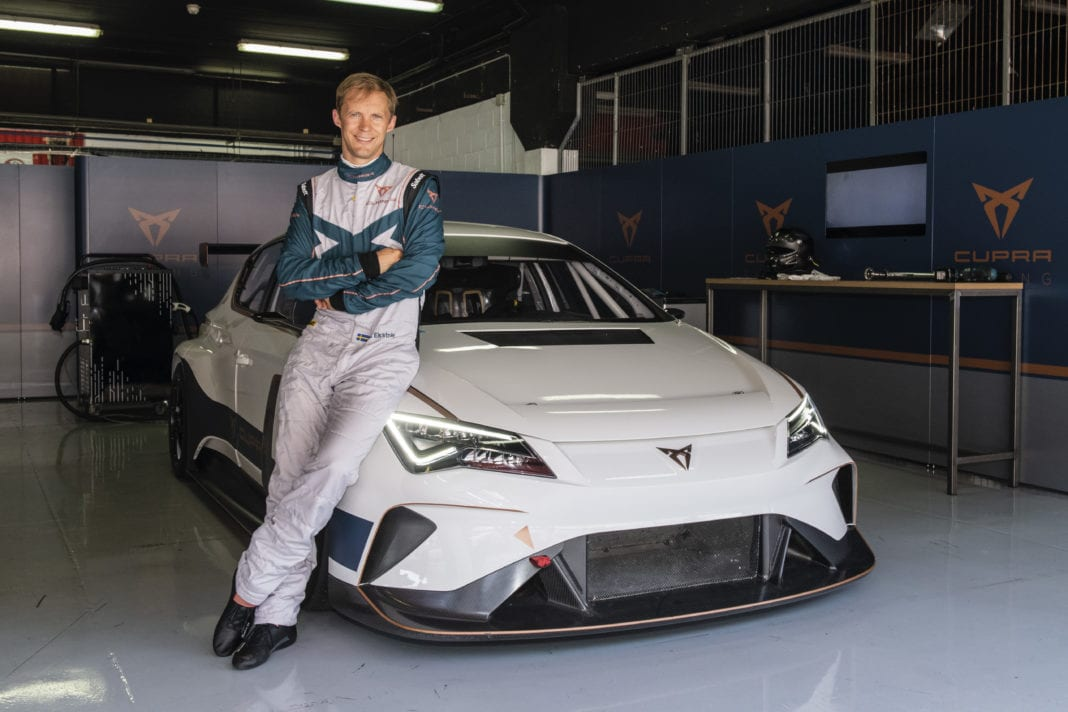 Mattias Ekström becomes CUPRA high voltage ambassador
