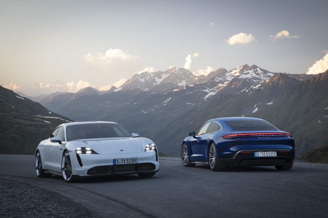 Porsche Taycan Turbo S and Taycan Turbo