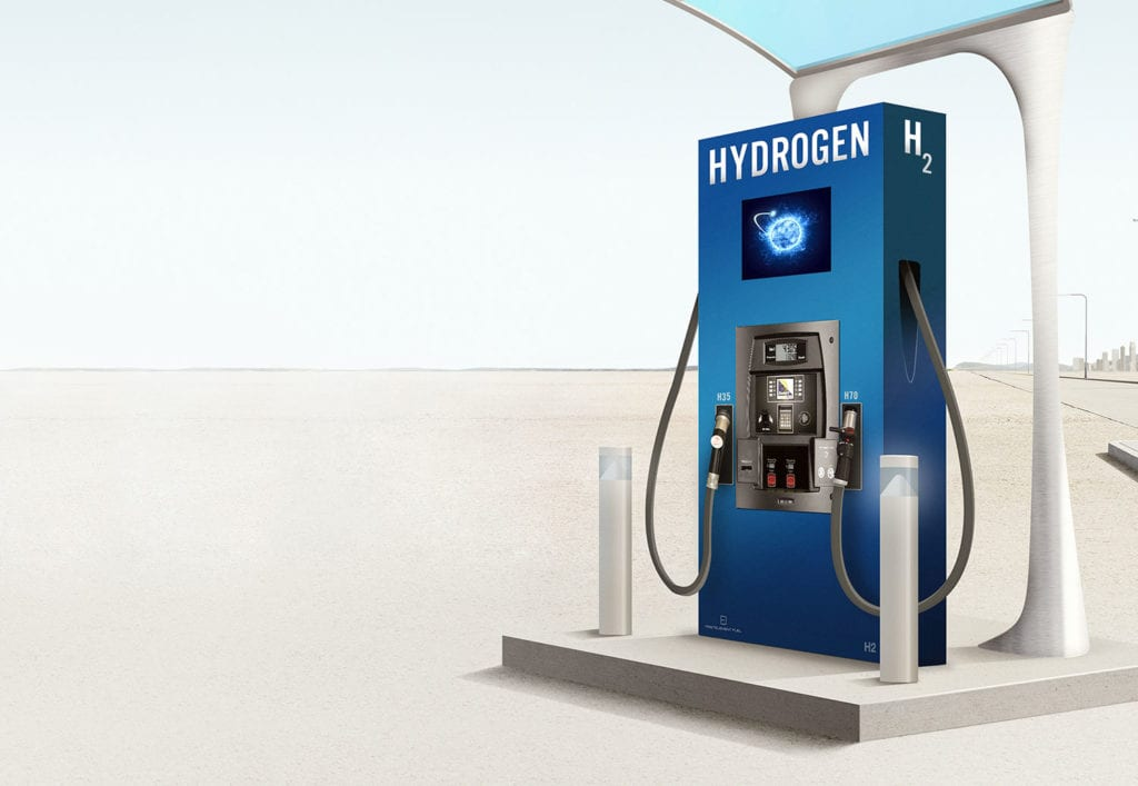 Hydrofenfuelingstationat The Pump B