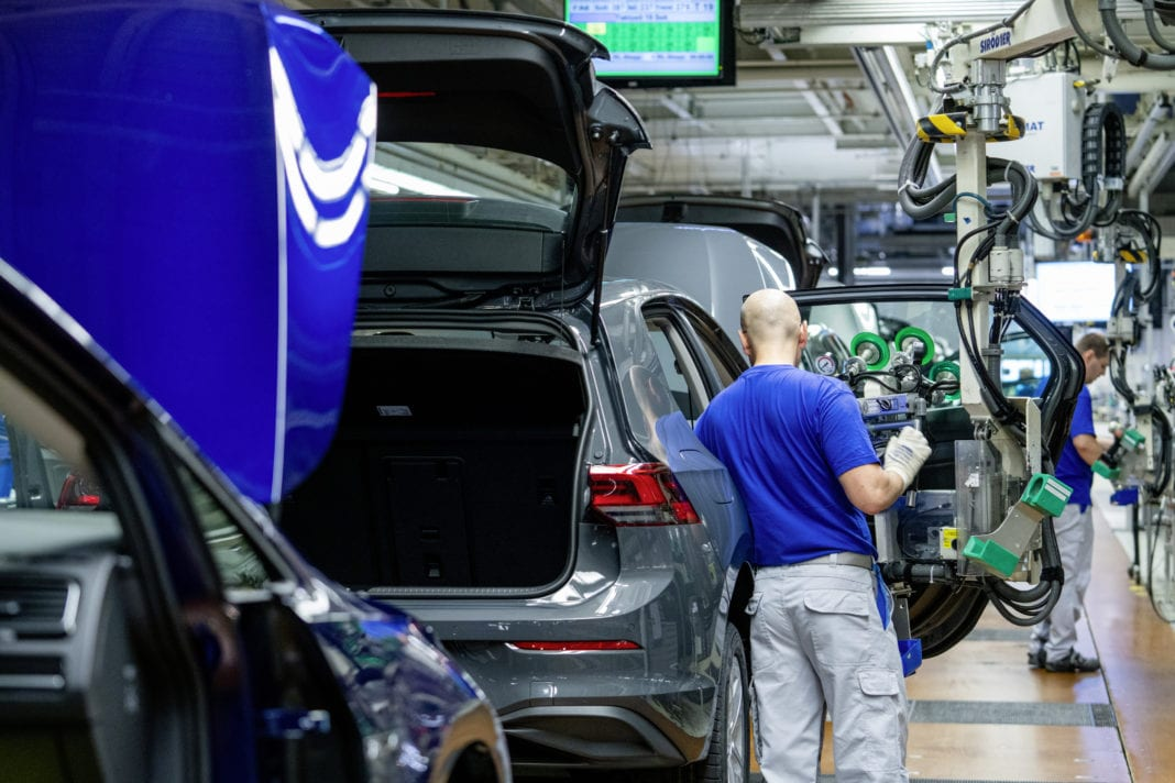Volkswagen Plant Wolfsburg, Golf 8 Production