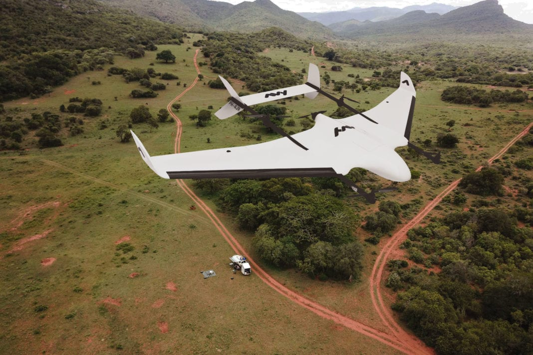 Emissions-free, autonomous and doing good – the Avy wing drone (photo: Avy)