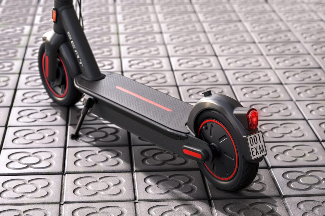 SEAT creates a business unit to promote urban mobility and presents its e-Scooter concept