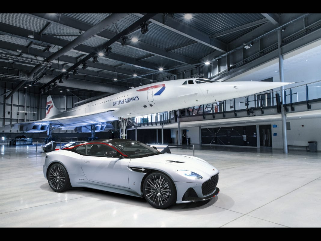 Aston Martin And British Airways To Launch Concorde Themed Limited Sports Car Auto Futures