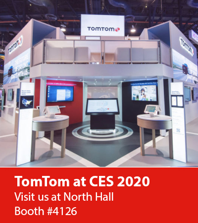 Tomtom At Ces 2020