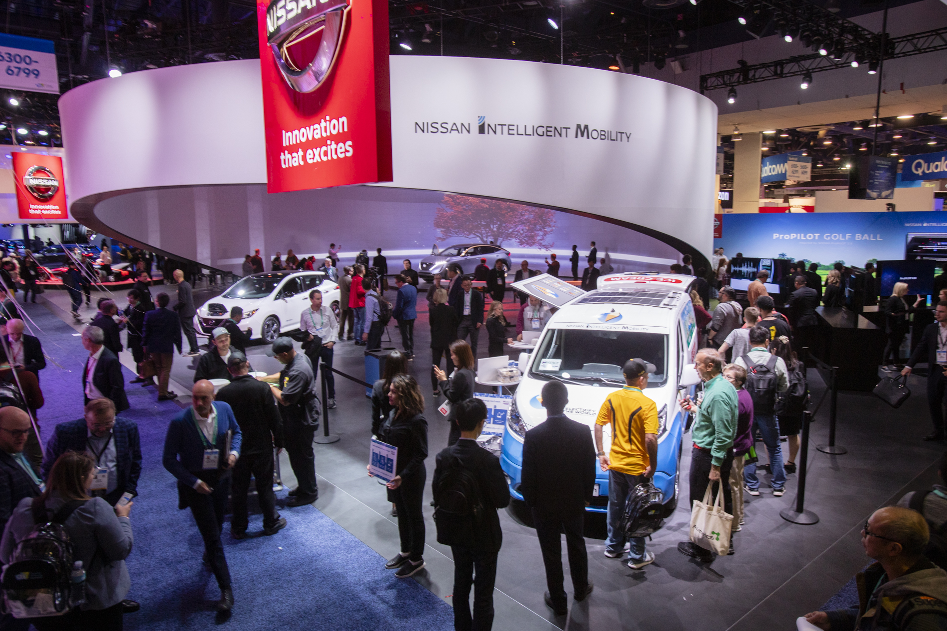 Nissan Ces 2020 Day 1