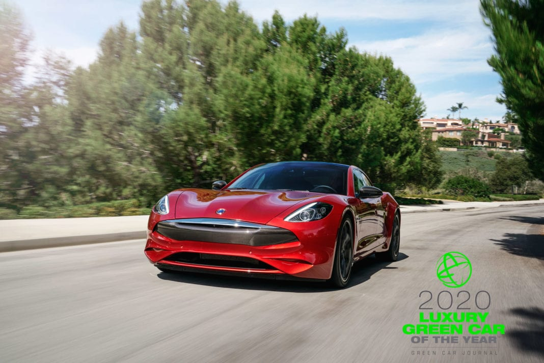 Karma Revero GT Named 2020 Luxury Green Car of the Year™