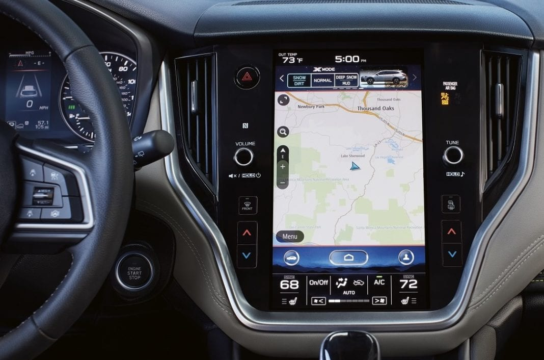 Subaru Chooses TomTom Navigation for All-New US Vehicles