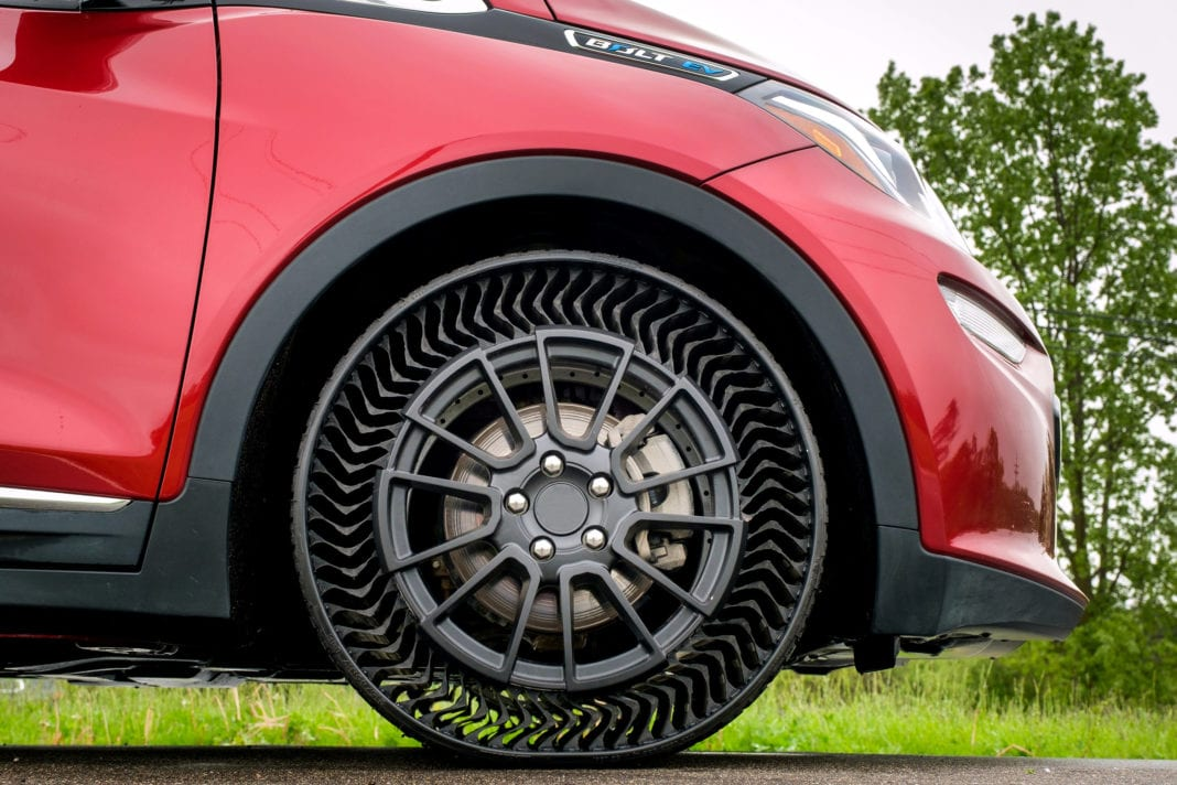 Michelin Prototype Tire Testing At Gm Milford