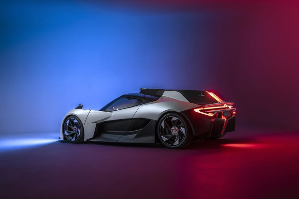 Apex Takes Covers Off Ap 0 A Fully Electric Concept Sports Car Auto Futures