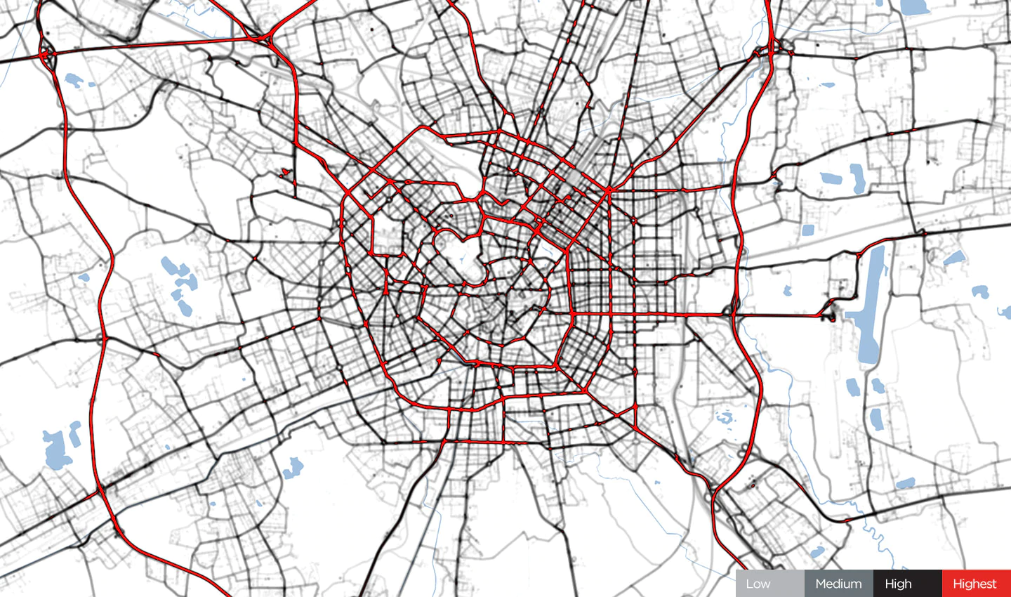 Fig. 1 – Milan, January 24, 2020. Before Covid 19 Restrictions