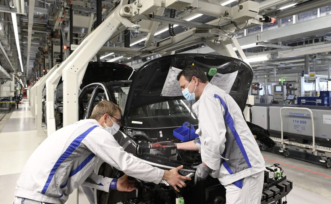 Zwickau Vehicle Plant Resuming Production Of The Id.3 Slowly An