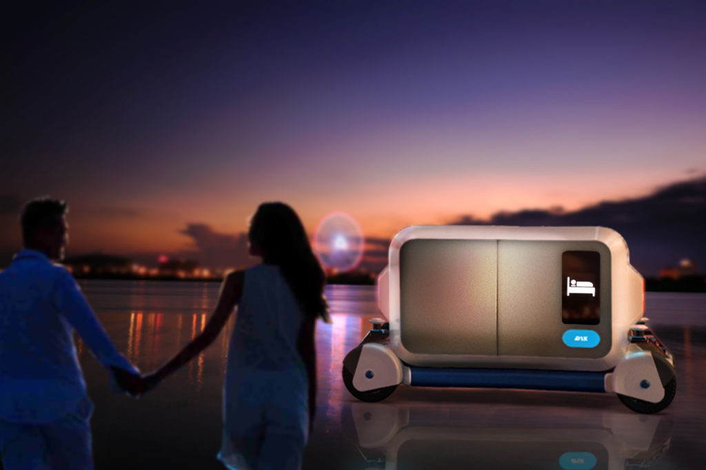 Self Driving Hotel Concept