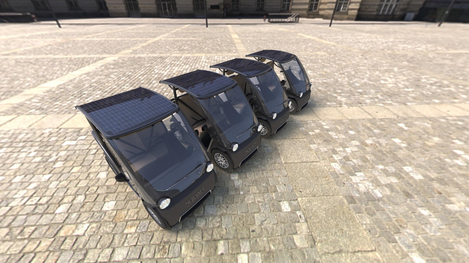 Solar City Car Row Maas 4 Cars