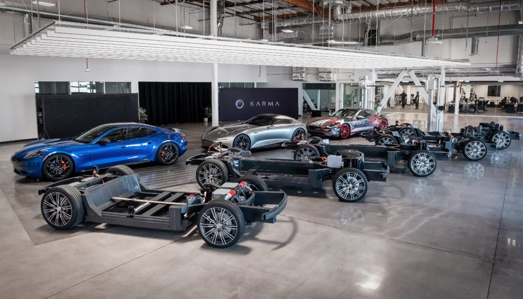 Karma Automotive Completes E-Flex Platform Projects to Offer New Electric Mobility Solutions