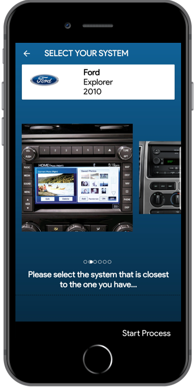 Iphone Privacy4cars System Selection