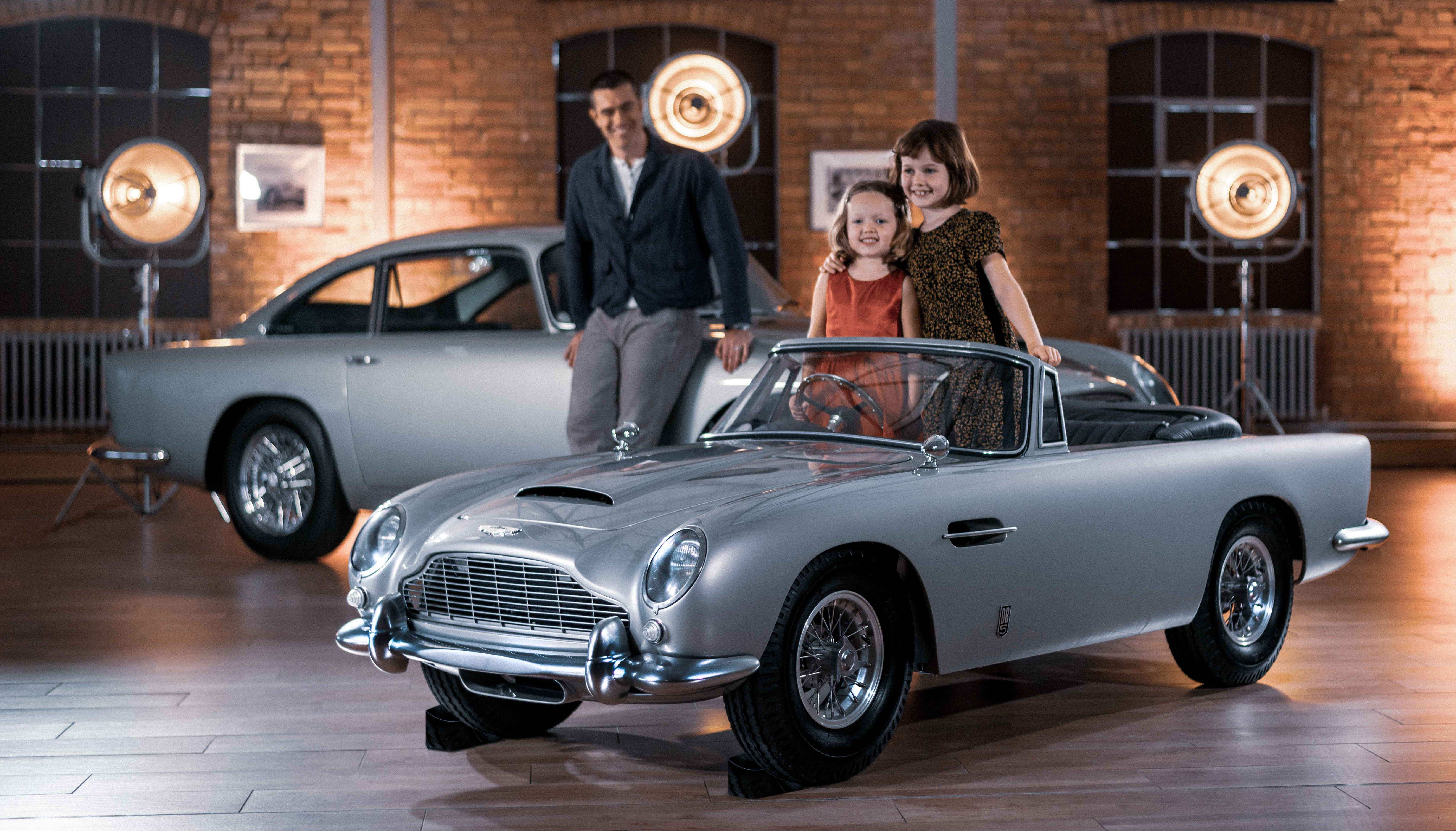 Aston Martin Unveils The Db5 Junior A Miniature Electric Version Of The Iconic Car Auto Futures
