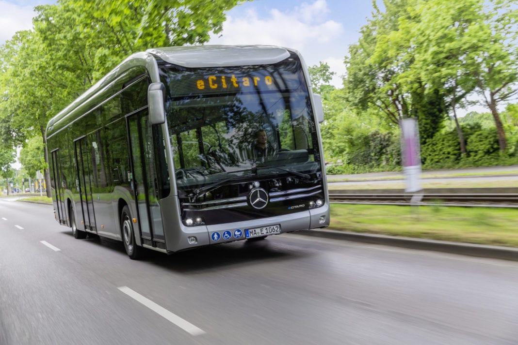 Mercedes-Benz eCitaro G with all-electric drive