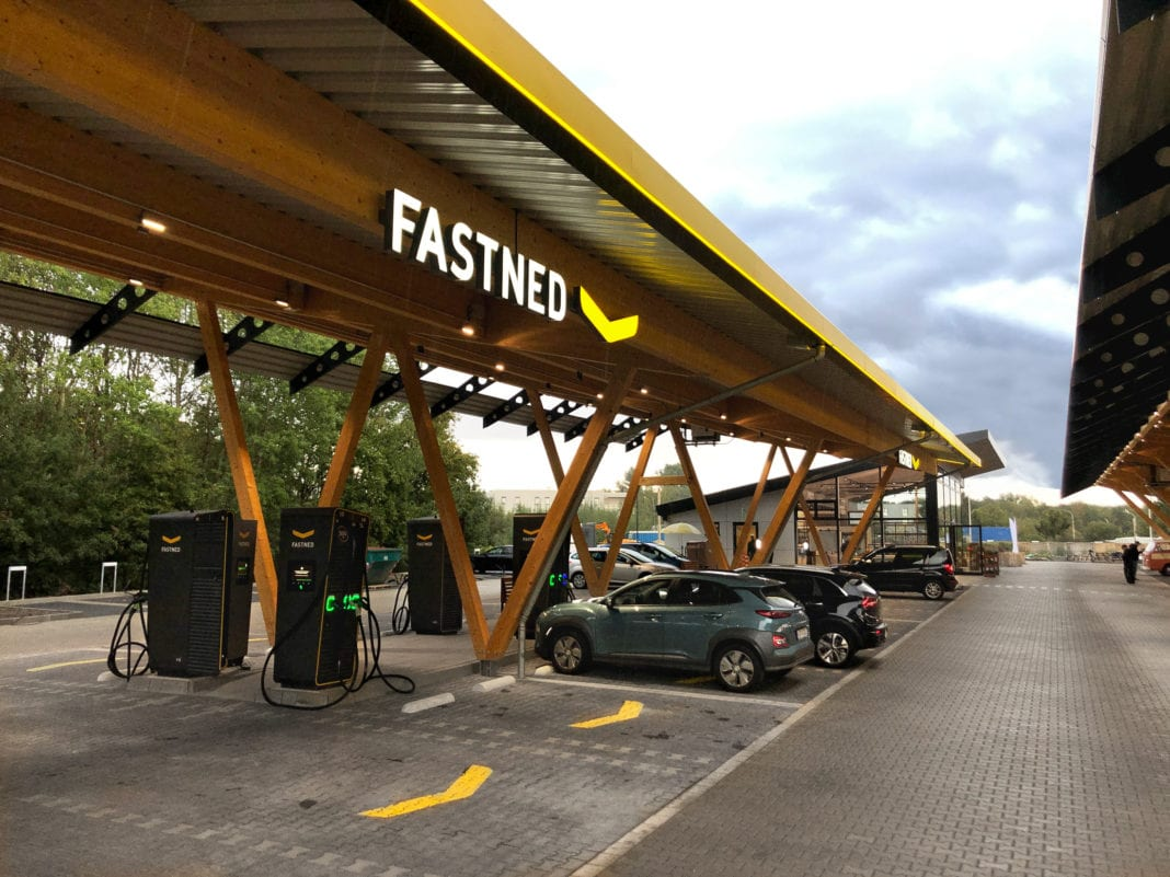 tesla and fastned open germany s largest fast charging hub auto futures largest fast charging hub