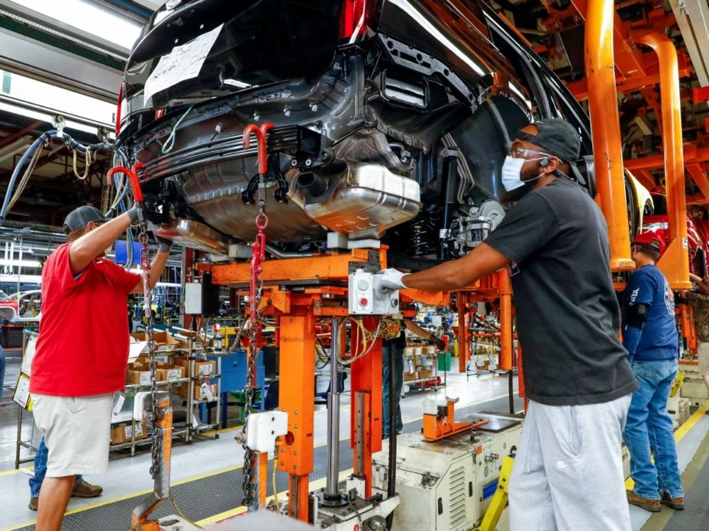 Gm Spring Hill Manufacturing Investment Announcement