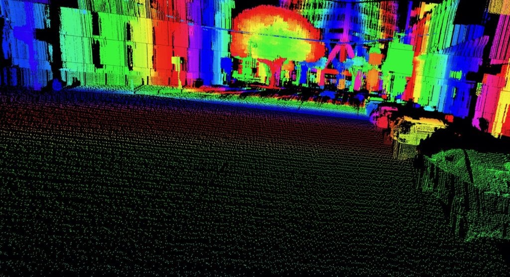 Aeye Point Cloud 2a
