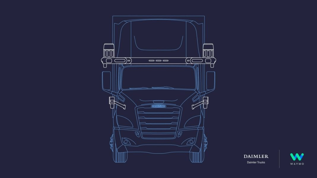 Daimler Trucks and Waymo have signed a broad, global, strategic partnership to deploy autonomous SAE L4 technology. Their initial effort will combine Waymo's industry-leading automated driver technology with a unique version of Daimler's Freightliner Cascadia, to enable autonomous driving.