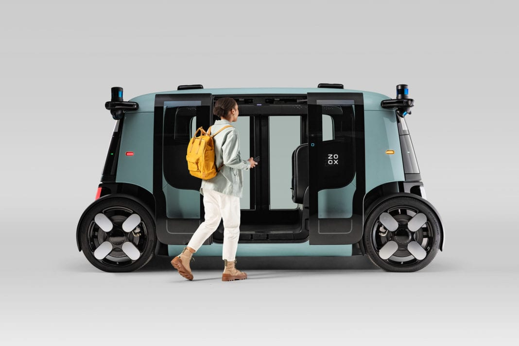 Amazon-Owned Zoox Reveals First Autonomous Robotaxi; Features 100 Safety  Innovations - Auto Futures