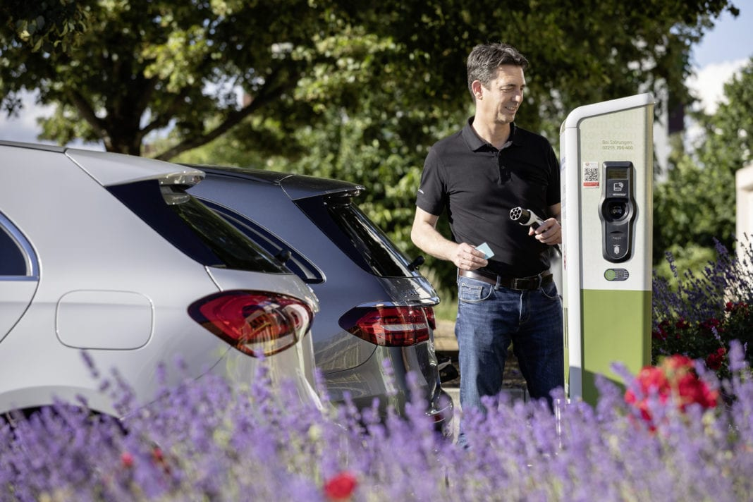 EQ Power Plug in hybrids deliver everyday electric mobility