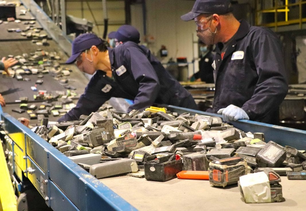 Lithium Ion Batteries Being Fed To The Shredder 1 1920x1325