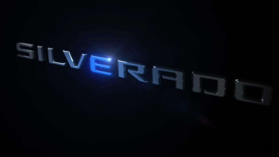 Chevrolet Confirms The First Ever Electric Silverado Full Size T