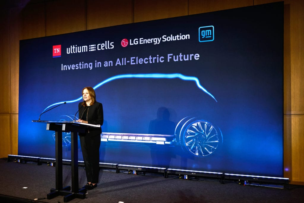 Gm And Lg Energy Solution To Build Second Ultium Cells Plant