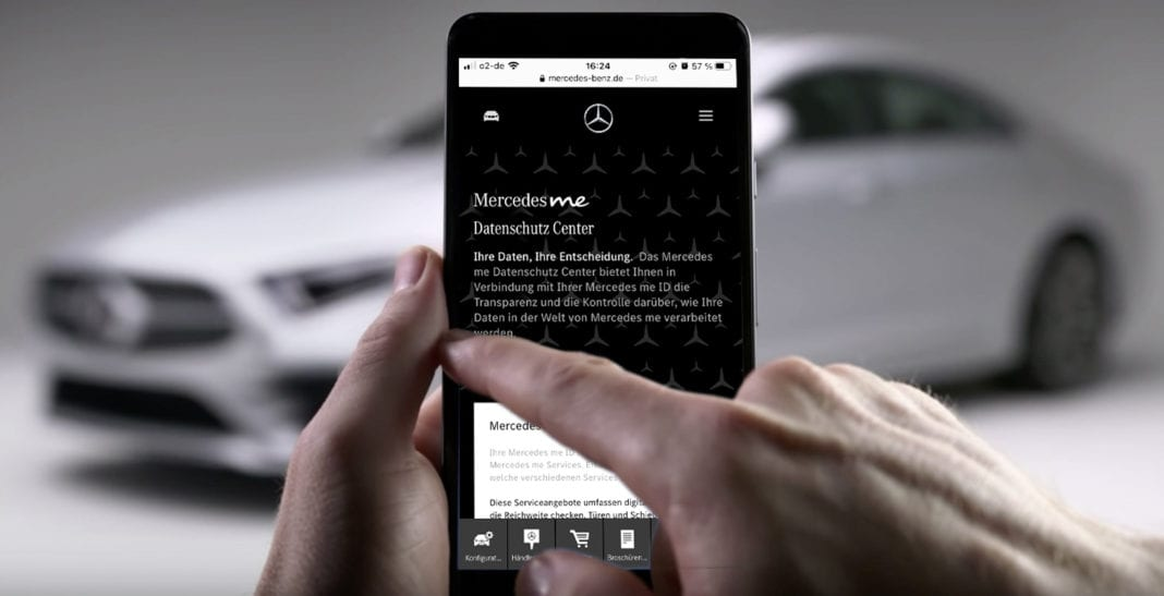 With the new Mercedes me Privacy Center customers are able to examine and easily manage their personal data