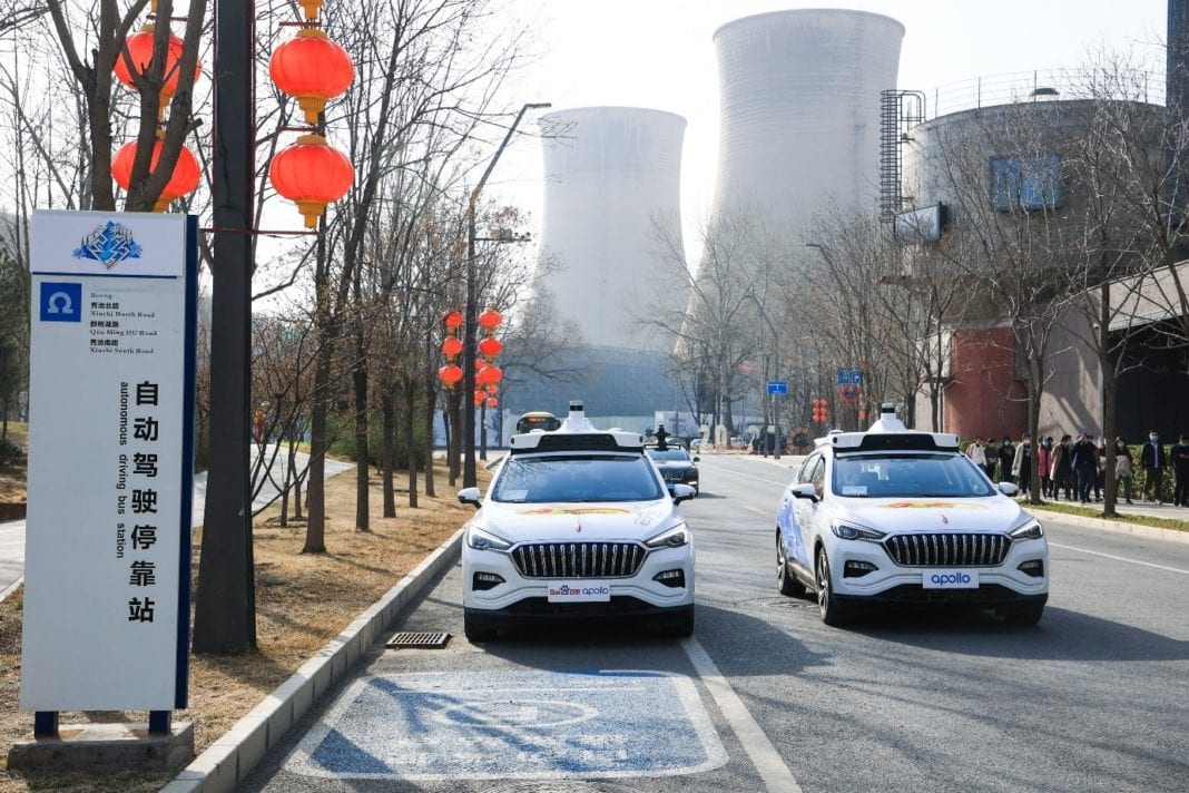 Baidu Apollo S Fully Driverless Robotaxis Motion