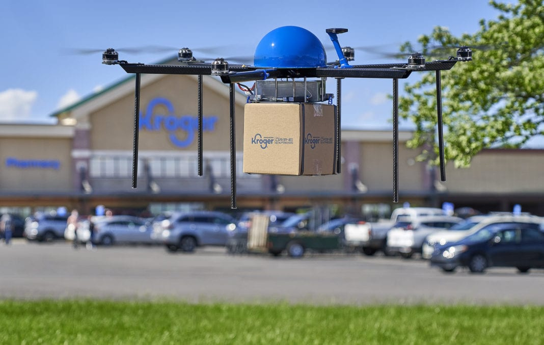 Kroger Delivery X Drone Express