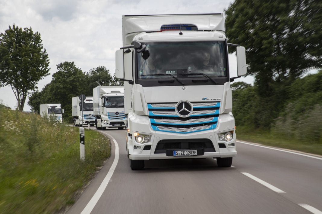 Mercedes-Benz Trucks to usher in a new era: World premiere of the eActros on June 30