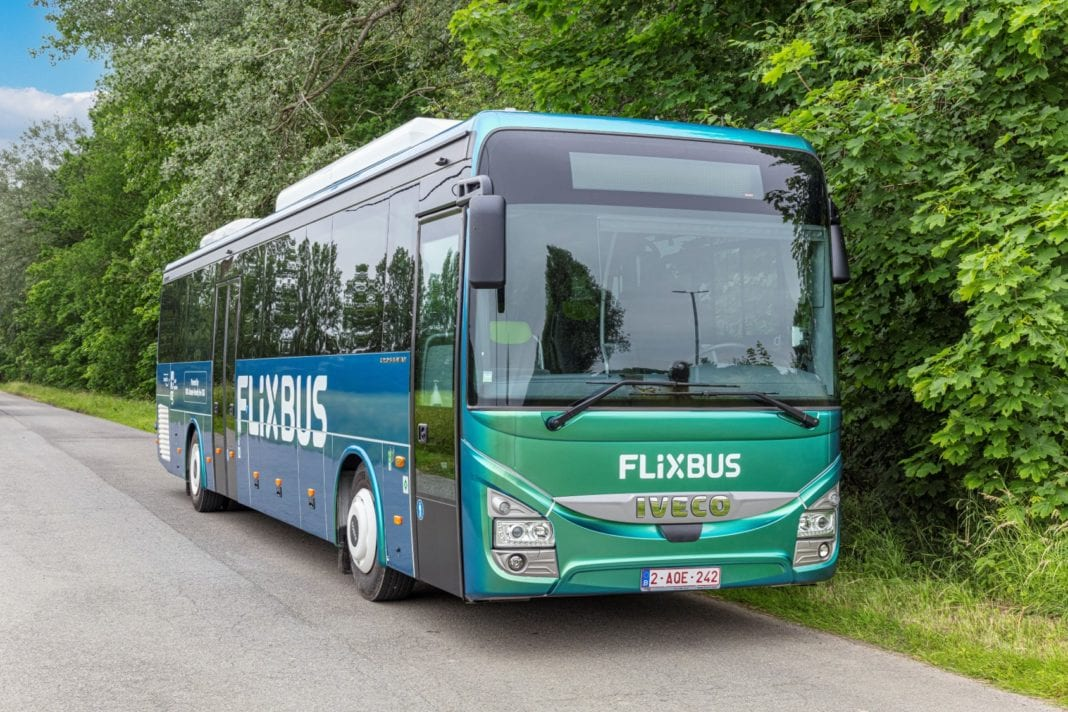FlixBus made the choice of a true sustainable mobility solution with the IVECO BUS Crossway Natural Gas with Biogas