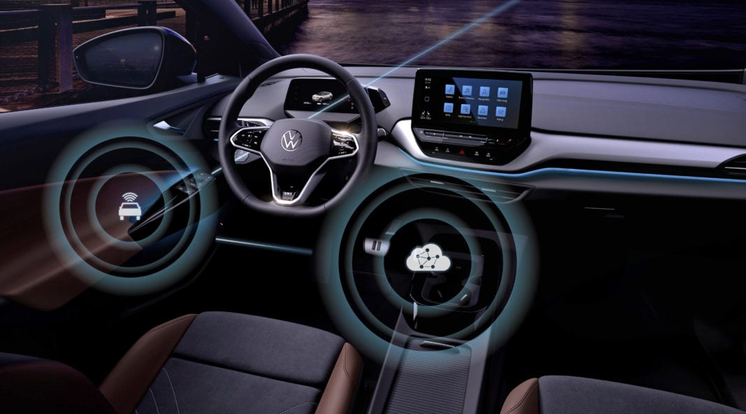Volkswagen Launches Over The Air Updates For The Id. Family
