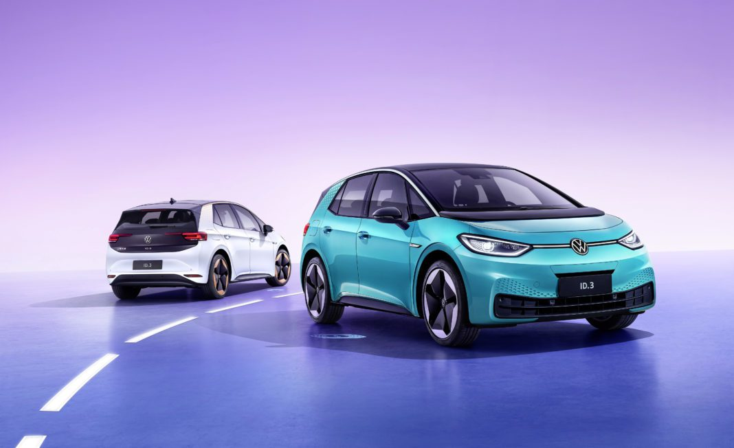 Volkswagen Steps Up Global Electrification Offensive: Id.3 Celeb