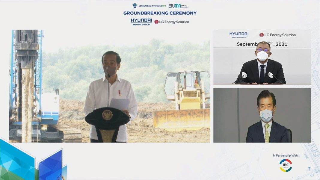 Hyundai Motor Group and LG Energy Solution Begin Construction of EV Battery Cell Plant in Indonesia