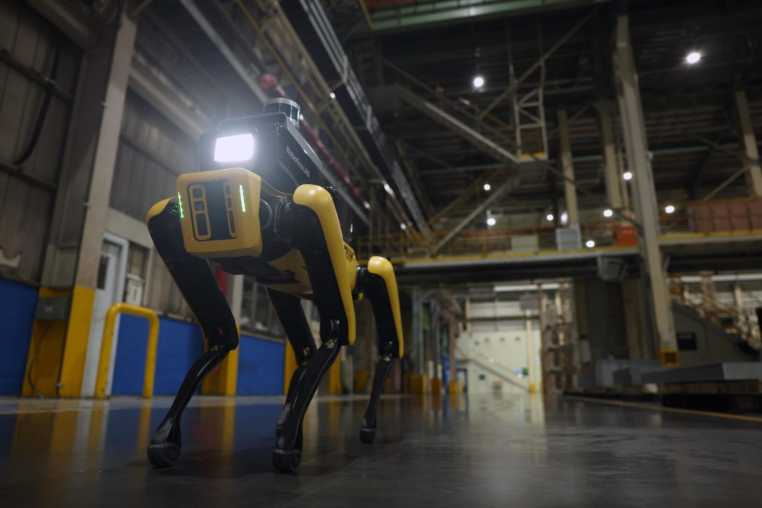 Factory Safety Service Robot