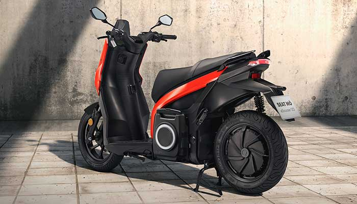 Seat Escooter 125 Rear